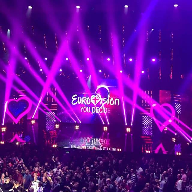 Ovogodišnje takmičenje održava se u Ukrajini (foto: Instagram/eurovision)