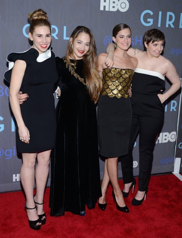 Devojke na premijeri druge sezone 2013. godine