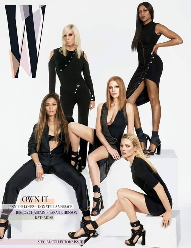 Pet dama na naslovnici (foto: Wmagazine.com)