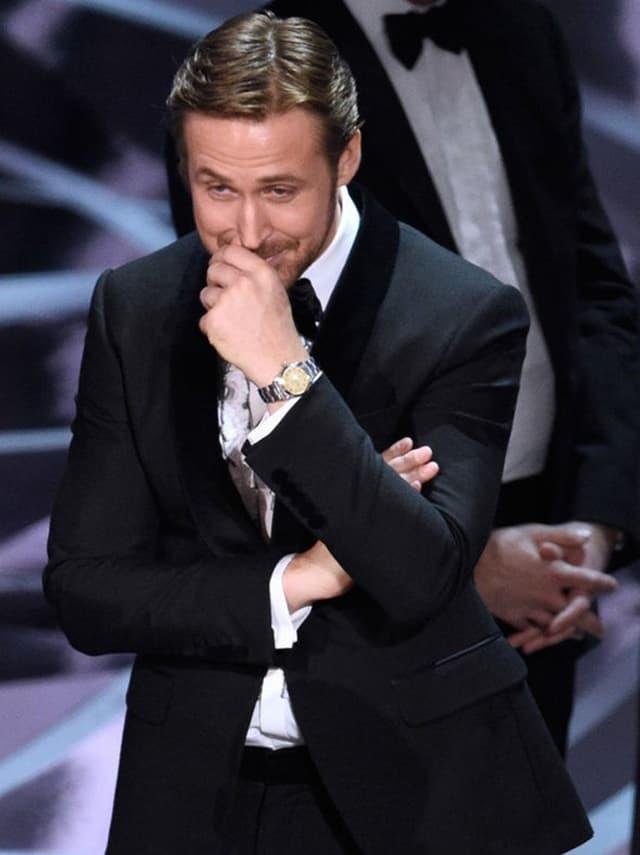 Nije mogao da prestane da se smeje (foto: ABC)