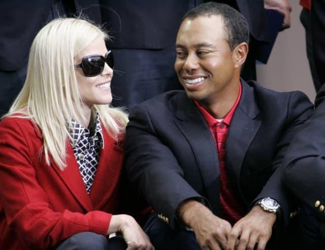 Erin Nordegren i Tiger Woods (foto: Wenn)