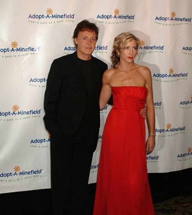 Paul McCartney i Heather Mills (foto: Wenn)