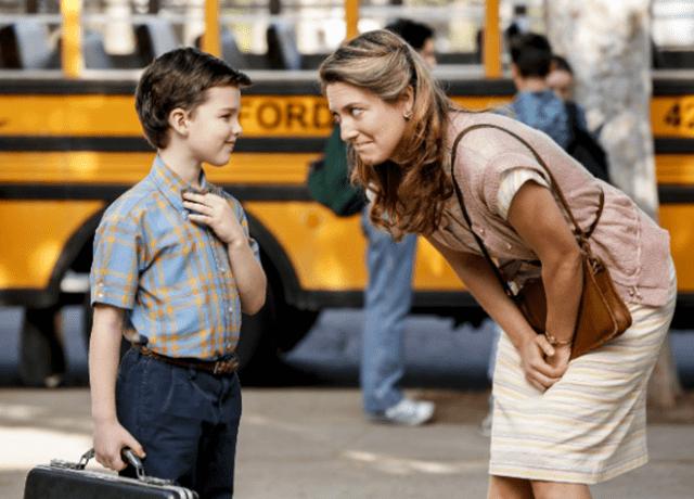 Zoe Pery glumiće majku mladog genijalca (foto: CBS)