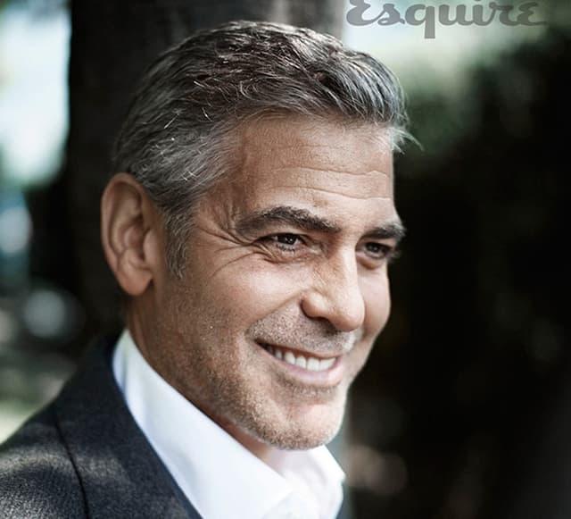 George je u 56. godini prvi put postao otac (foto: Esquire)
