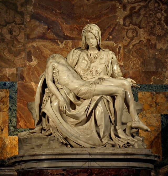 Mikelanđelova Pieta (foto: Wikipedia)