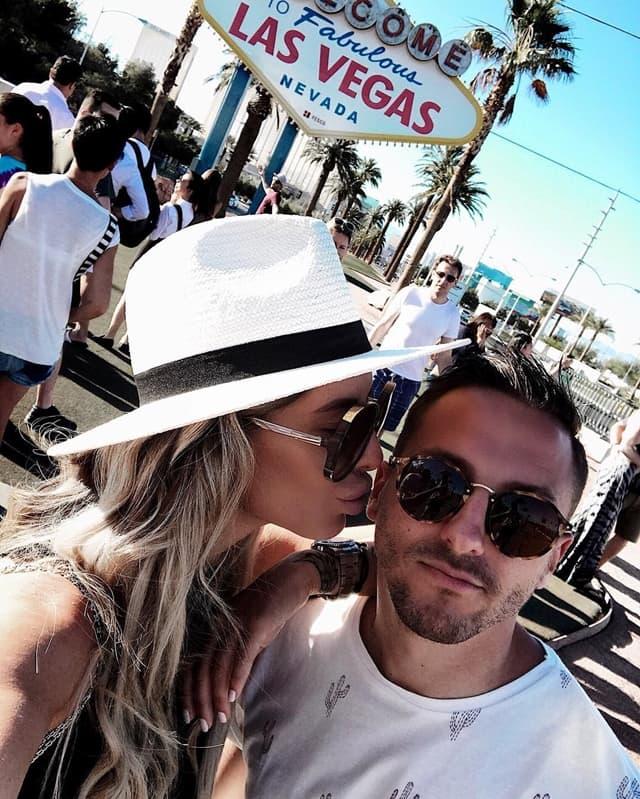 Par uživa u Vegasu (foto: Instagram.com/zorannah)